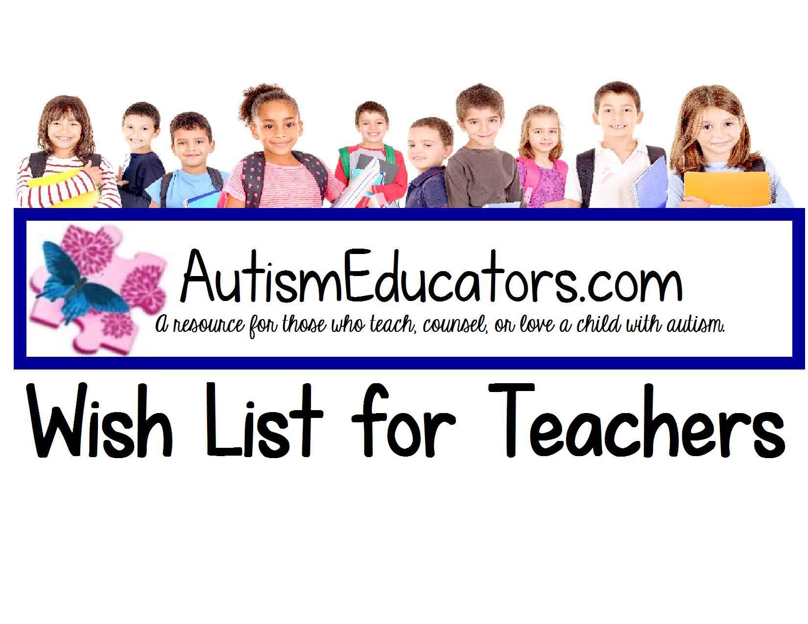 Teacher Wish Lists