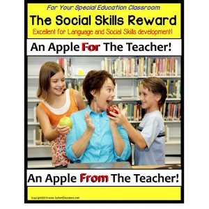 Autism Social Skills and Language Development Communication Game/Reward System