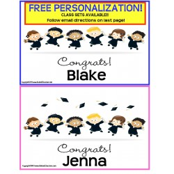 Personalized Graduation Promotion Announcements