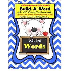 Autism - Building WORDS for Visual Learners