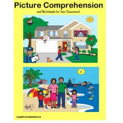 FREE Autism Picture Comprehension and Worksheets