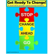 Transition Prompt Visuals for Special Education and Autism