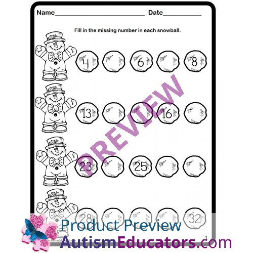 math worksheet : winter math snowball sequencing numbers worksheets free : Winter Math Worksheets