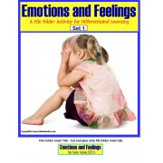 File Folder Activities for Autism Emotions and Feelings {Social Skills}