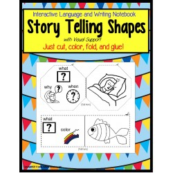 Interactive Notebook Story Telling Shapes for Autism