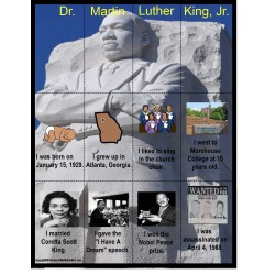Martin Luther King, Jr. Fact Puzzle FREE