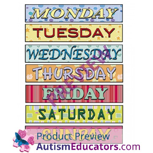 Autism Awareness Week Clip Art