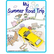 Summer Road Trip Journal and Activity Book