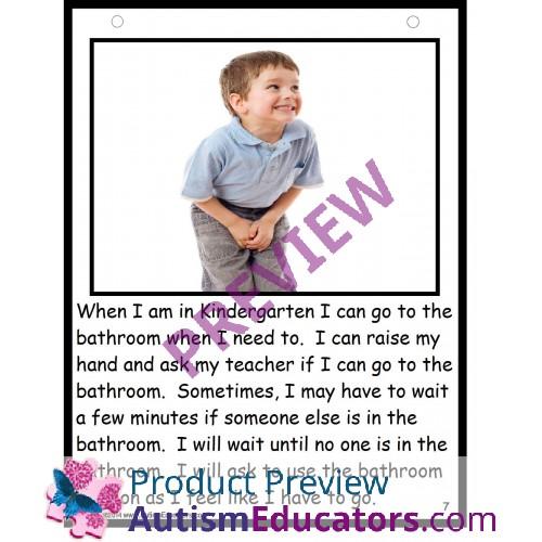 Autism Social Story   File Folder Game OKAY NOT OKAY Kindergarten. Social Story   File Folder Game OKAY NOT OKAY Kindergarten