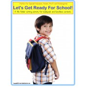 Autism File Folder Games Ready For School Sorting Special Education