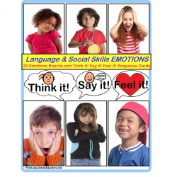 Autism Social Skills and Language Activities (Expected vs. Unexpected) BUNDLE with FREE HOLIDAY SCENARIOS
