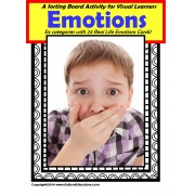 Autism Emotions Sorting Board and Flashcards
