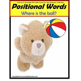 File Folder Game POSITIONAL Words