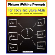 FREE Visual Writing Prompts for Teens and Young Adults with Support Symbols