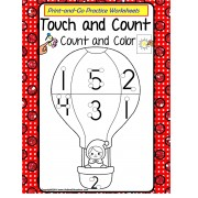 Count and Color with Touch Points