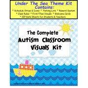 Autism Classroom Visuals Kit - UNDER THE SEA THEME