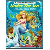 File Folder Game Matching UNDER THE SEA with Picture Fact Cards