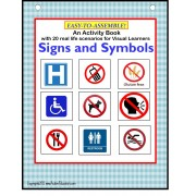 Common Signs and Symbols for Visual Learners Interactive Activity Book and File Folder SET for Autism