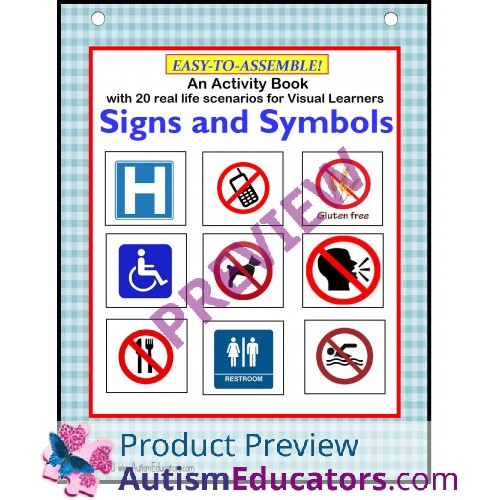 Common Signs And Symbols For Visual Learners Interactive Activity