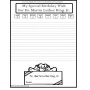 FREE Martin Luther King Day Writing Activity
