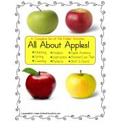 File Folders (SET OF 9) Apples Math & Literacy