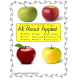 File Folders (SET OF 9) Apples Math & Literacy
