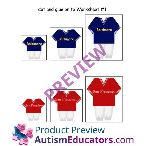 math worksheet : free kindergarten size sorting super bowl worksheet : Free Sorting Worksheets For Kindergarten