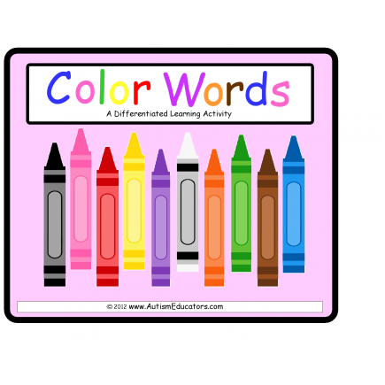 Color Words Differentiated