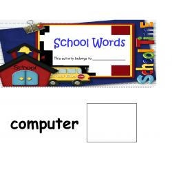 School Days Words