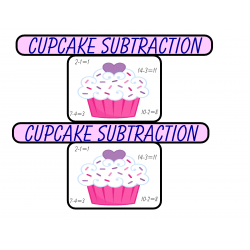 Cupcake Subtraction