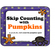 Skip Counting Pumpkins