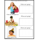 Autism File Folder Activity of Familiar Situations {Where Am I Going?} Special Education