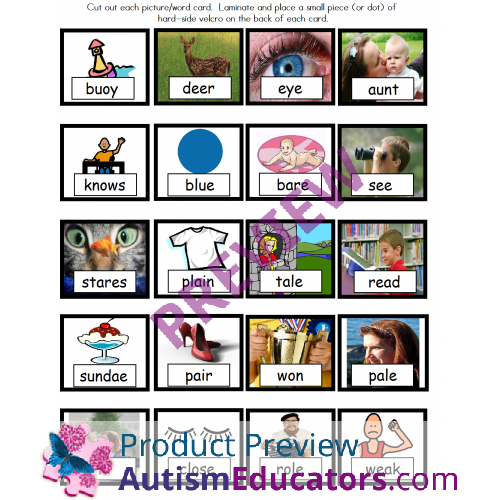 F  plete Pdf Oh Deer Page X together with Big likewise Homophones besides Left And Right Activity in addition Spelling Homophones. on math homonyms