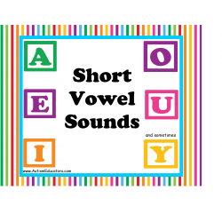 Short Vowel Sounds    FREE!