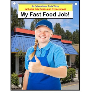 Autism Social Story Job Skills - MY FAST FOOD JOB