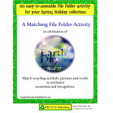 FREE Earth Day File Folder Activity {Autism/Kindergarten/First/Special Needs}