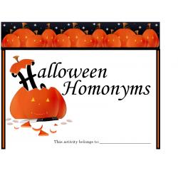 Halloween Homonyns