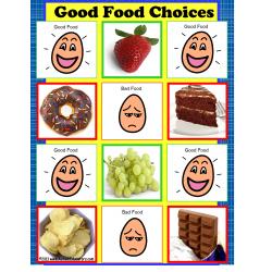 File Folder Game GOOD FOOD CHOICES