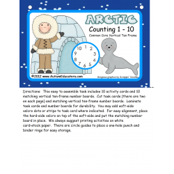 Common Core Eskimo Counting 1- 10