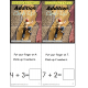 Kindergarten Common Core Addition Math Center Activity for Visual Learners