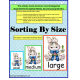 Kindergarten Common Core Sorting By Size Activity Book Adapted for Special Needs Students