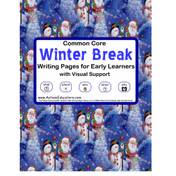 Common Core Winter Writing Journal for Early Writers