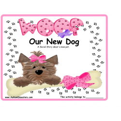 Social Story NEW DOG