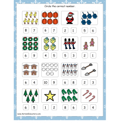 Holiday Counting 0-10