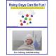 Autism Comprehension Activity Book -Rainy Days Can Be Fun! {Kindergarten}