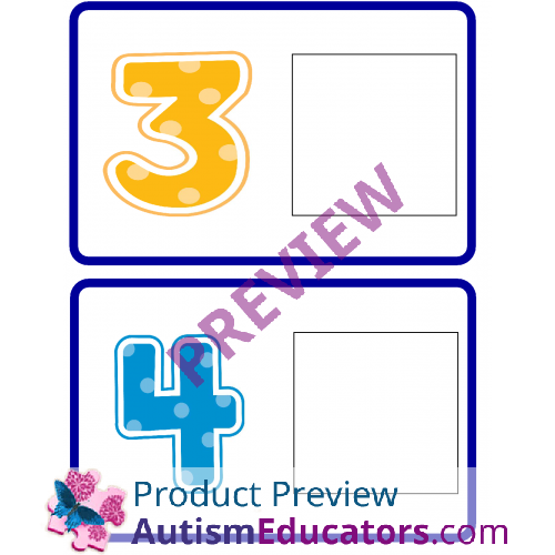 Clip Art Numbers 1-20