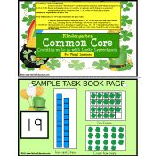 Kindergarten Common Core Counting to 20 Lucky Leprechauns