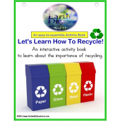 Earth Day - How To Recycle Activity Book {Interactive with Visuals}