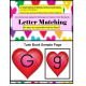 Valentine's Day Upper & Lowercase Heart Letter Matching Activity