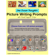 Picture Writing Prompts with Visual Support for Writers of All Ages